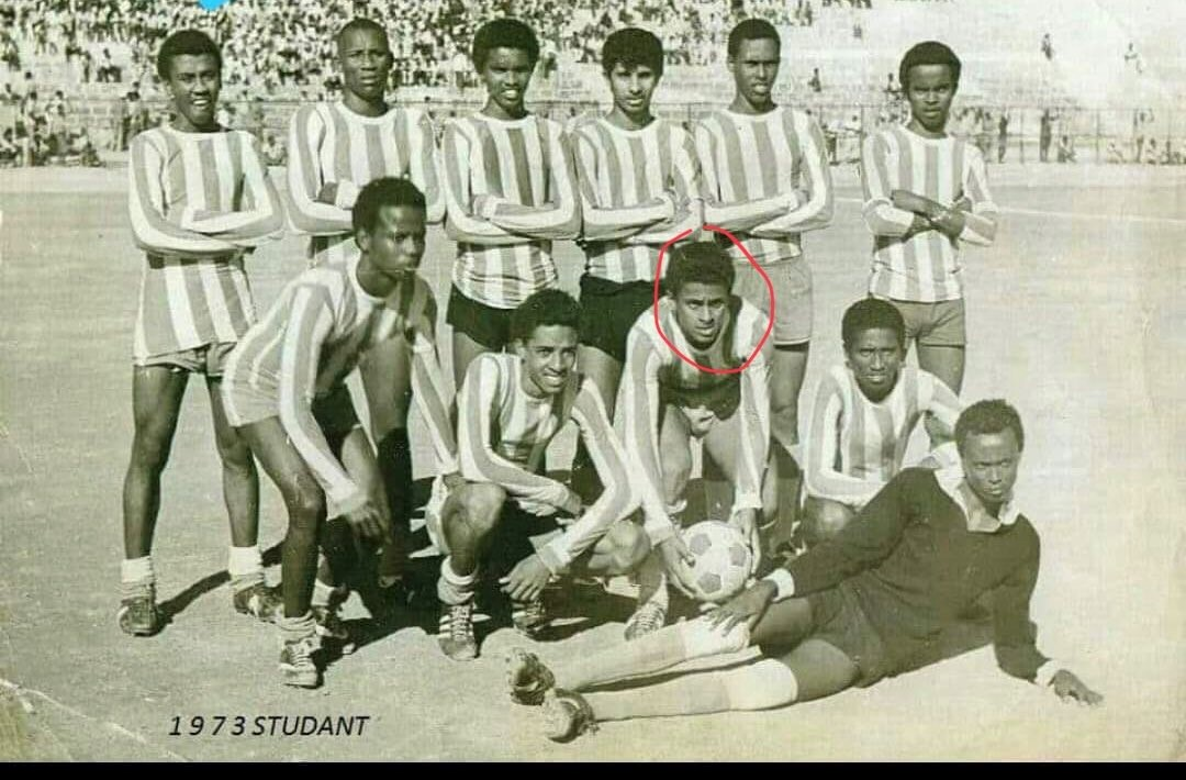 Hassan Afif pictured for the Somali national team
